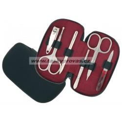 Pánská manikúra DUP 230401-331černá kůže