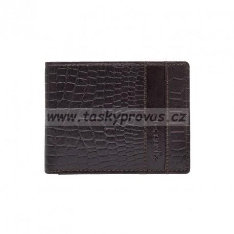Pánská kožená peněženka Lagen 5111 hnědá