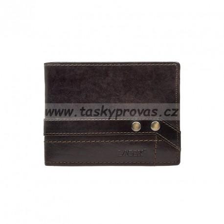 Pánská kožená peněženka Lagen 5103W/T tm.hnědá