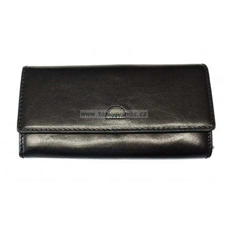 Dámská kožená luxusní peněženka Cosset 4493 Classic černá