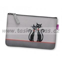 Kosmetická eko taška Bertoni Dvě kočky 323-3