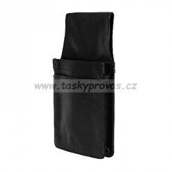 Kožené pouzdro na kasírku Talacko 680-032-60 černé