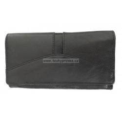 Dámská kožená peněženka Talacko 240-1 černá