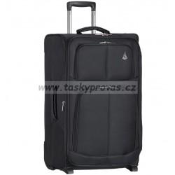 Cestovní kufr AEROLITE T-9613/3-L - černá