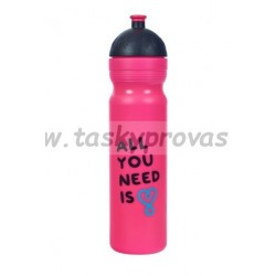 Zdravá lahev UAX All you need - růžová 1,0l