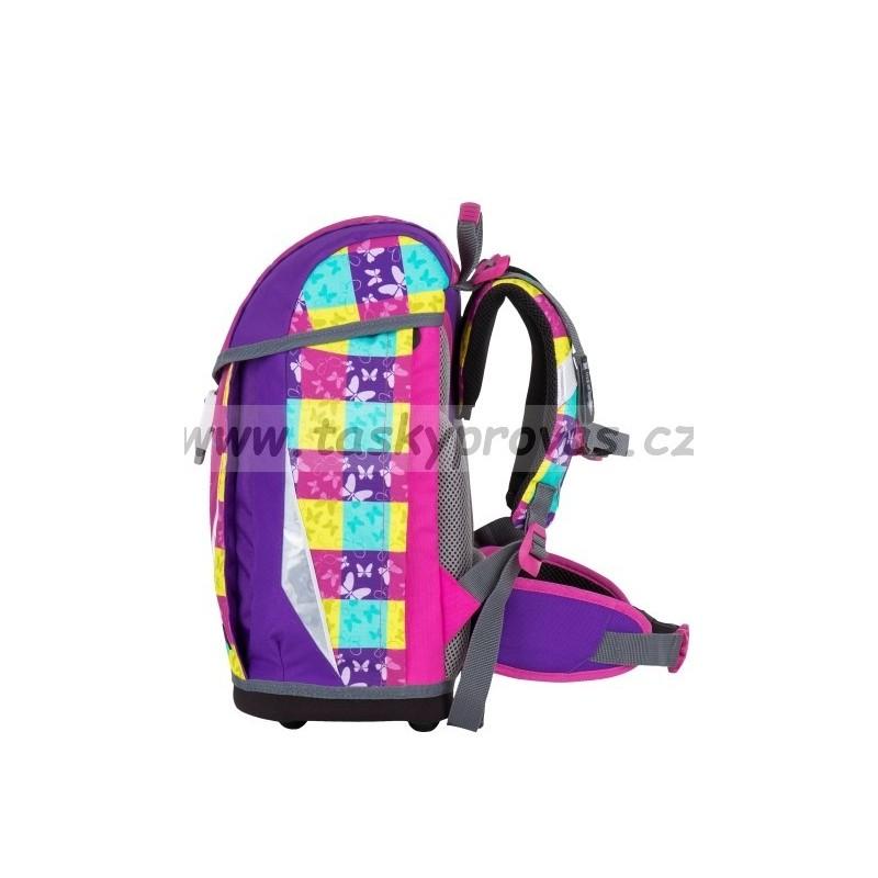 Školní dívčí batoh Bagmaster POLO 7 A PINK VIOLET 735f3a5dd9
