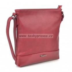 Kabelka přes rameno Famito Tangerin 3311 červená