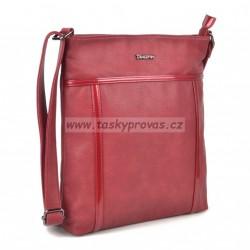 Kabelka přes rameno Famito Tangerin 3307 červená