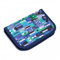 Školní pouzdro Topgal - CHI 920 D - Blue (fotbal)