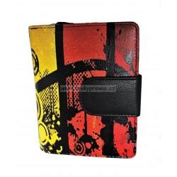 Dámská kožená peněženka DD 2811-99 barevný potisk