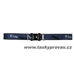 Dětský pásek Xandy 11034 modrošedý jeans