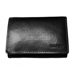 Kožená peněženka dámská Lagen LM-2520/T černá