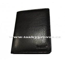 Pánská kožená peněženka Lagen 1108/L černá