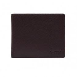 Pánská kožená peněženka Lagen W-8155 tm.hnědá