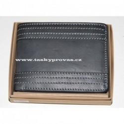 Pánská kožená peněženka Talacko 1404 tm.šedá