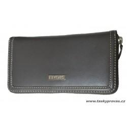 Dámská kožená peněženka Segali W 4990 šedá
