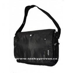 Sportovní taška s kapsou na notebook Diviley WC19070 černá