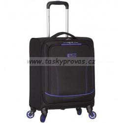 Kabinové zavazadlo SPIRIT T-1115/3-S - černá/modrá