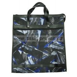 Nákupní taška KŠK vz. 156 černá/modrá