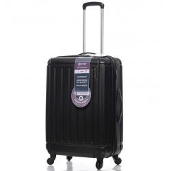 Cestovní kufr CITIES T-105/3-M ABS - černá