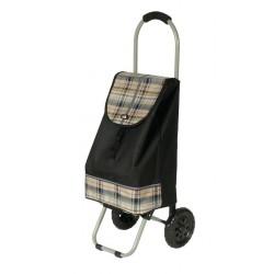 Nákupní taška na kolečkách Dielle CARR1-01 černá
