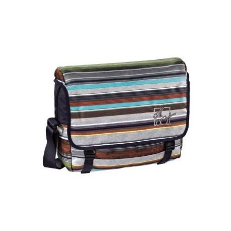 Taška přes rameno All Out, Waterfall Stripes 129483