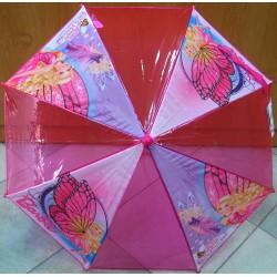 Deštník hůlkový Barbie