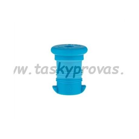 Zátka na zdravou láhev - modrá fluo
