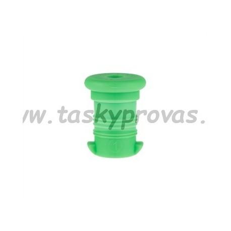 Zátka na zdravou láhev - modrá zelená