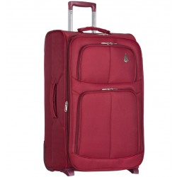 Cestovní kufr AEROLITE T-9613/3-L - vínová