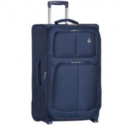 Cestovní kufr AEROLITE T-9613/3-L - tmavě modrá