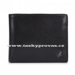 Cosset kožená peněženka 4502 Komodo černá