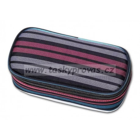 Penál Walker Classic stripes 49164-122 barevné pruhy