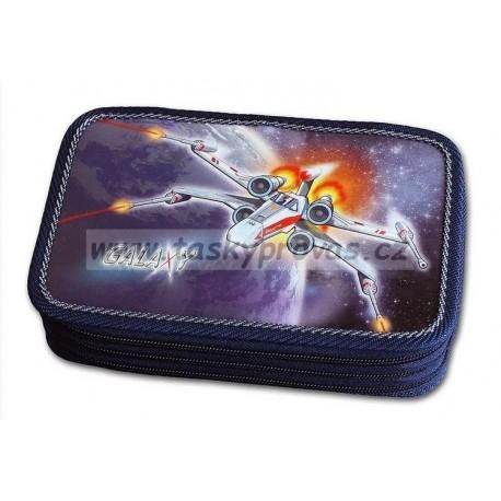 Školní penál Emipo Galaxy 3-patrový