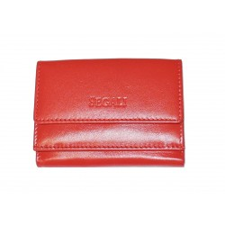 Malá kožená peněženka Segali 1756 red