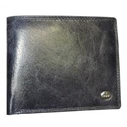 Pánská kožená peněženka DD X 07-06 tm.modrá