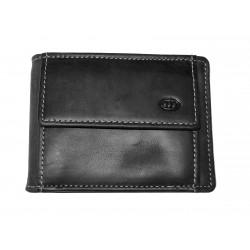 Kožená peněženka dolarka DD W 13-01 černá