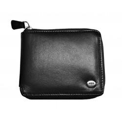Pánská kožená peněženka DD X 3005-01 černá