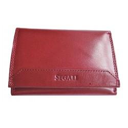 Dámská kožená peněženka Segali 60100 cherry red