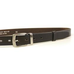 Pánský kožený společenský opasek Penny Belts 30-100-2 tm.hnědý