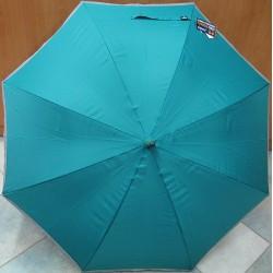 Deštník holový Blue Drop A404 reflexní pruh/petrol.
