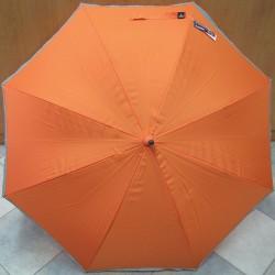 Deštník holový Blue Drop A404 reflexní lem/oranž.