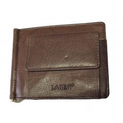 Kožená peněženka dolarka Lagen 2010 hnědá