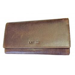 Dámská kožená luxusní peněženka Lagen 37371 brown