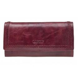Dámská kožená luxusní peněženka Lagen 9772 red