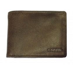 Pánská kožená peněženka Lagen 103 d.brown