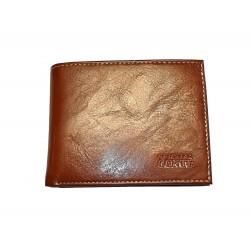 Kožená pánská peněženka Cristian Conte 8051 hnědá