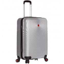 Kabinové zavazadlo SIROCCO T-1157/3-S ABS - stříbrná
