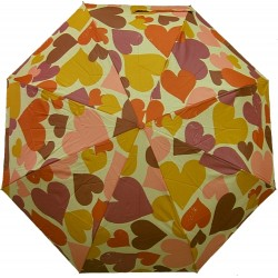 Deštník skládací Blue Drop A179DC srdce
