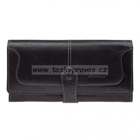 Dámská kožená luxusní peněženka Lagen 9771 black